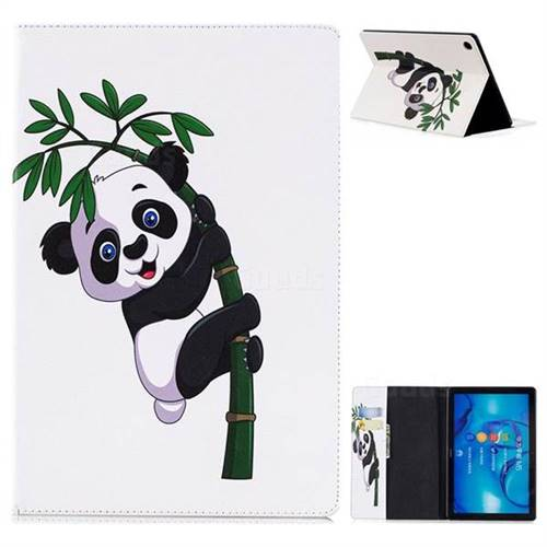 Bamboo Panda Folio Stand Leather Wallet Case for Huawei MediaPad M5 10 / M5 10 inch (Pro)