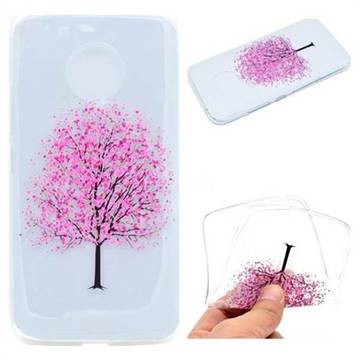 Petals Tree Super Clear Soft TPU Back Cover for Motorola Moto G5