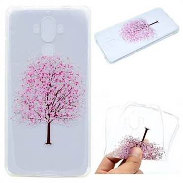 Petals Tree Super Clear Soft TPU Back Cover for Huawei Mate9 Mate 9