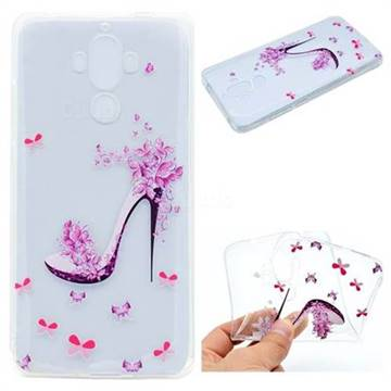 Petal High Heels Super Clear Soft TPU Back Cover for Huawei Mate9 Mate 9