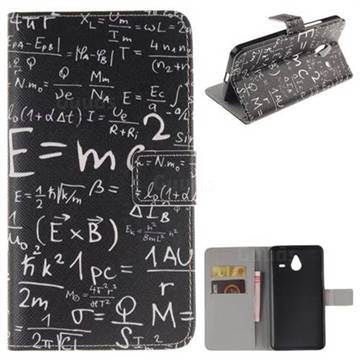 Math Formula Leather Wallet Case for Nokia Lumia 640 XL - Leather ...