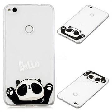 Hello Panda Super Clear Soft TPU Back Cover for Huawei P8 Lite 2017 / P9 Honor 8 Nova Lite