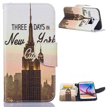 Pylon Leather Wallet Case for Samsung Galaxy S6 G920 G9200