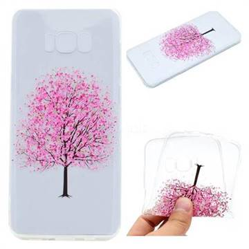 Petals Tree Super Clear Soft TPU Back Cover for Samsung Galaxy S8 Plus S8+