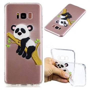 Tree Panda Super Clear Soft TPU Back Cover for Samsung Galaxy S8 Plus S8+