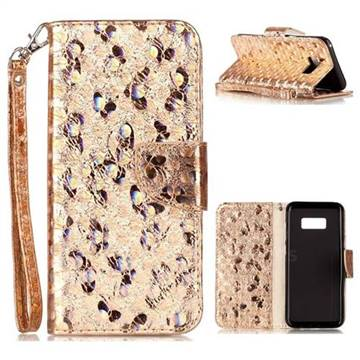s8 case samsung wallet butterfly