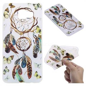 Color Wind Chimes 3D Relief Matte Soft TPU Back Cover for Samsung Galaxy A3 2016 A310