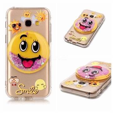 Emoji Cas Smiley Tpu Pour Samsung Galaxy A3 (2017) eZFHMBvyt