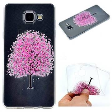 Petals Tree Super Clear Soft TPU Back Cover for Samsung Galaxy A5 2016 A510