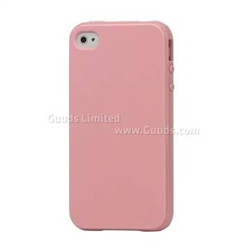 TPU Gel Case for iPhone 4S / iPhone 4 CDMA - Pink
