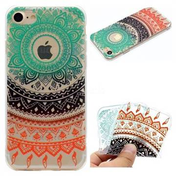 Tribe Flower Super Clear Soft TPU Back Cover for iPhone 6s 6 6G(4.7 inch)