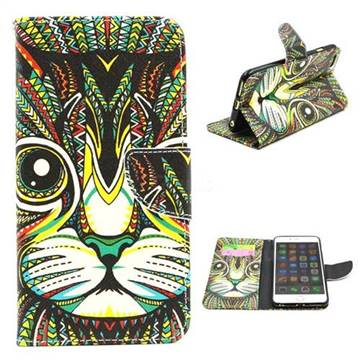 Cat Leather Wallet Case for iPhone 6 (4.7 inch)