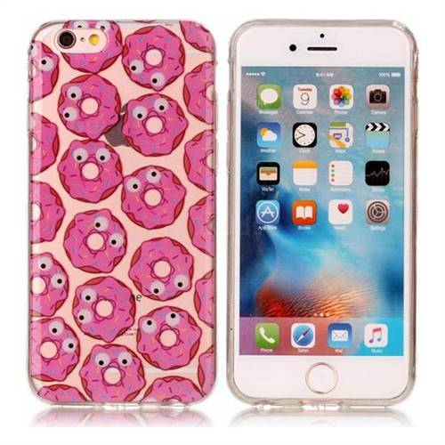 Eye Donuts Super Clear Soft TPU Back Cover for iPhone 6s Plus / 6 Plus 6P(5.5 inch)