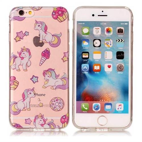Unicorn Super Clear Soft TPU Back Cover for iPhone 6s Plus / 6 Plus 6P(5.5 inch)