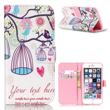 Spring Leather Wallet Case for iPhone 6s (4.7 inch)