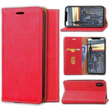 Multi Function Phone Magnetically Holster Case for iPhone X - Red