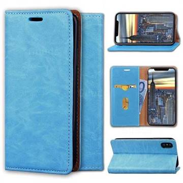 Multi Function Phone Magnetically Holster Case for iPhone X - Blue