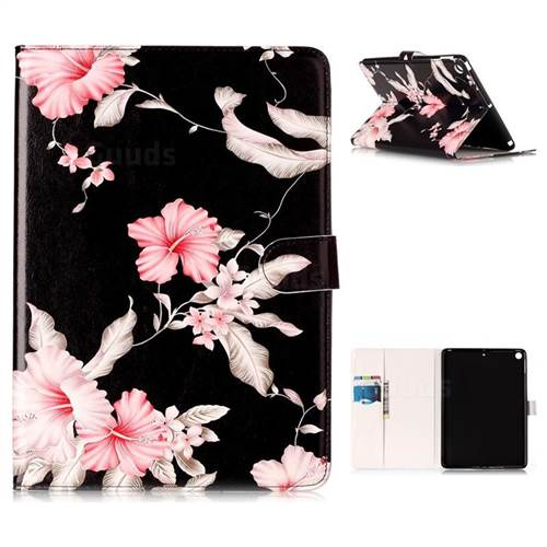 Azalea Flower Folio Flip Stand PU Leather Wallet Case for iPad Pro 9.7 2017 9.7 inch
