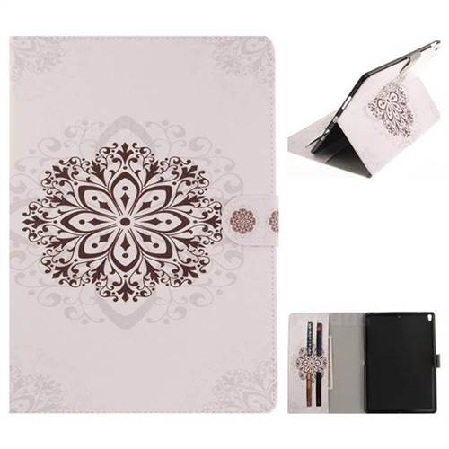 Datura Flowers Painting Tablet Leather Wallet Flip Cover for iPad Pro 10.5