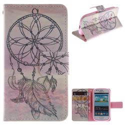Dream Catcher PU Leather Wallet Case for Samsung Galaxy S3 Mini i8190