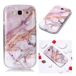 Classic Powder Soft TPU Marble Pattern Phone Case for Samsung Galaxy S3