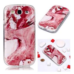 Pork Belly Soft TPU Marble Pattern Phone Case for Samsung Galaxy S3