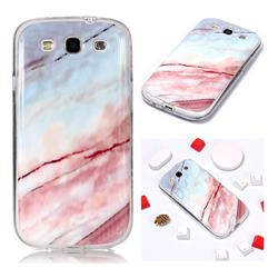 Elegant Soft TPU Marble Pattern Phone Case for Samsung Galaxy S3