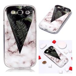 Leaf Soft TPU Marble Pattern Phone Case for Samsung Galaxy S3