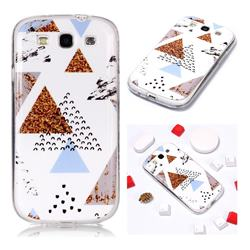 Hill Soft TPU Marble Pattern Phone Case for Samsung Galaxy S3