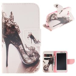 High Heels PU Leather Wallet Case for Samsung Galaxy S3