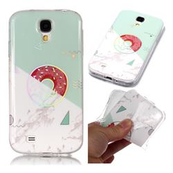 Donuts Marble Pattern Bright Color Laser Soft TPU Case for Samsung Galaxy S4