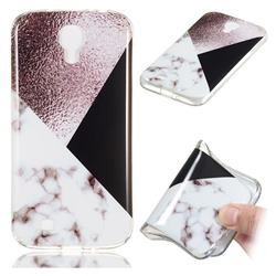 Black white Grey Soft TPU Marble Pattern Phone Case for Samsung Galaxy S4