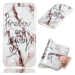 Forever Soft TPU Marble Pattern Phone Case for Samsung Galaxy S4