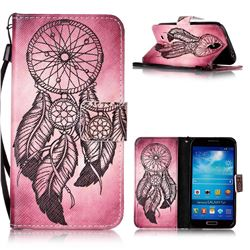 Wind Chimes Leather Wallet Phone Case for Samsung Galaxy S4