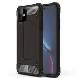 King Kong Armor Premium Shockproof Dual Layer Rugged Hard Cover for iPhone 11 (6.1 inch) - Black Gold
