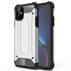 King Kong Armor Premium Shockproof Dual Layer Rugged Hard Cover for iPhone 11 (6.1 inch) - White