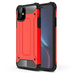 King Kong Armor Premium Shockproof Dual Layer Rugged Hard Cover for iPhone 11 (6.1 inch) - Big Red