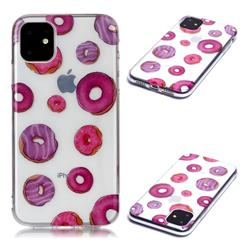 Donuts Super Clear Soft TPU Back Cover for iPhone 11 (6.1 inch)