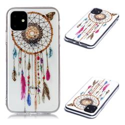 Wind Chimes Butterfly Super Clear Soft TPU Back Cover for iPhone 11 (6.1 inch)