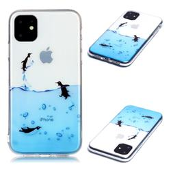 Penguin Out Sea Super Clear Soft TPU Back Cover for iPhone 11 (6.1 inch)