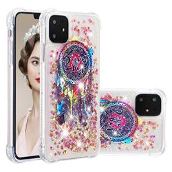 Seal Wind Chimes Dynamic Liquid Glitter Sand Quicksand Star TPU Case for iPhone 11 (6.1 inch)