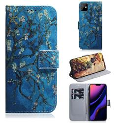 Apricot Tree PU Leather Wallet Case for iPhone 11 (6.1 inch)