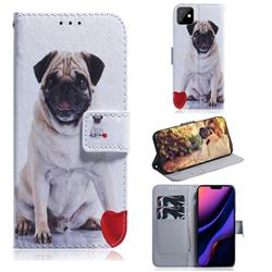 Pug Dog PU Leather Wallet Case for iPhone 11 (6.1 inch)