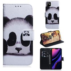 Sleeping Panda PU Leather Wallet Case for iPhone 11 (6.1 inch)