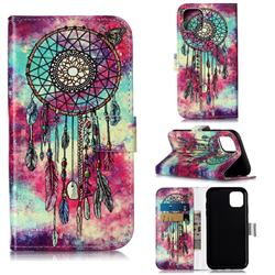 Butterfly Chimes PU Leather Wallet Case for iPhone 11 (6.1 inch)