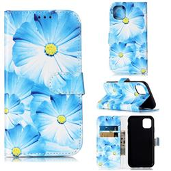 Orchid Flower PU Leather Wallet Case for iPhone 11 (6.1 inch)