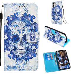 Cloud Kito 3D Painted Leather Wallet Case for iPhone 11 (6.1 inch)