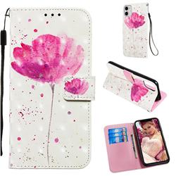 Watercolor 3D Painted Leather Wallet Case for iPhone 11 (6.1 inch)