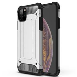 King Kong Armor Premium Shockproof Dual Layer Rugged Hard Cover for iPhone 11 Pro Max (6.5 inch) - White