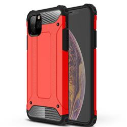 King Kong Armor Premium Shockproof Dual Layer Rugged Hard Cover for iPhone 11 Pro Max (6.5 inch) - Big Red
